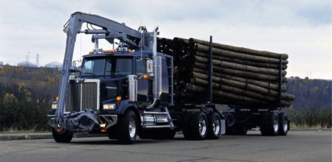 Western Star self loader heavy duty truck